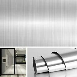 Decorative Stainless Steel Wall Paper for Countertops Kitchen Cabinets Covers $14.36