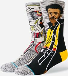 "STANCE STAR WARS Men#x27;s Lando ""Calrissian"" Socks Size Large 9 12 NEW with tags $24.00"