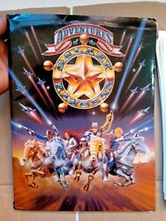 MegaRare ADVENTURES GALAXY RANGERS FOLDER WITH IMAGES not for commercial sale
