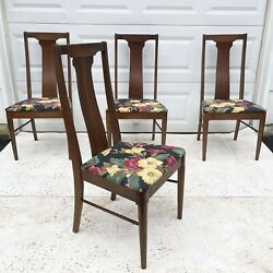 Mid Century Dining Chairs by Broyhill Set of 4 $600.00