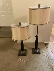 Height Adjustable Lamp Set $40.00