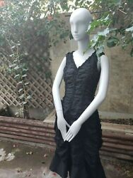 Black Goth Gothic Dress Size Small grunge sexy Evening Gown Symphony