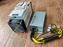 Two Bitmain Antminer S9 Braiins OS firmware 15 16TH s No fees on slush pool $1100.00