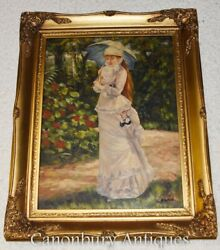 Victorian Oil Painting Portrait of a Lady $550.00