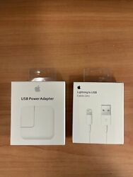 12W USB Power Adapter Charger for Apple 8 7 X iPad 2 3 4 Air amp; 2M Cable $17.99
