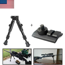 Tactical 6 inch Picatinny Adjustable Spring Return Hunting Rifle Bipod Mount $27.79