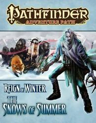 Pathfinder Adventure Path: Reign of Winter Part 1 The Snows of Summer Spicer $80.00