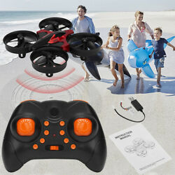 Mini Remote Control Drone Nano Quadcopter For Kids Beginners Helicopter Outdoor $21.99