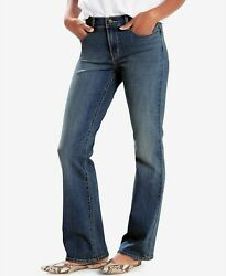 Levi#x27;s Curvy Boot Cut Mid Rise Jeans for Women Retail $59.50 NWT $14.85