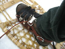 New Leather Snowshoe Harnesses $65.00