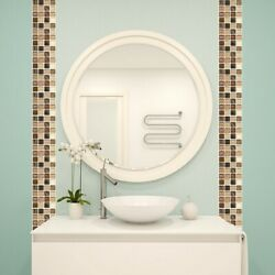 18PCS Simulation Mosaic PVC Tile Wall Stickers For Kitchen Bathroom Waterproof C $16.02
