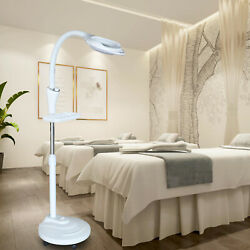 16x Magnifying Floor Stand Lamp Light Magnifier Glass Jeweler Beauty LED Lamp $59.00