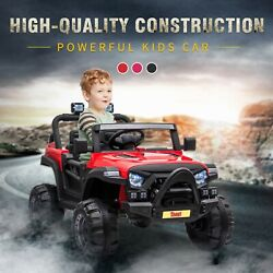 12V Electric Kids Ride On Car Motorized Off Road Vehicle W 2.4G Remote Control $165.99
