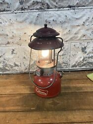 Coleman 1967 Lantern Red 200A Camping Dated 3 67 Tested Works $89.99