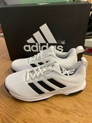 NEW Men#x27;s Adidas Game Spec Athletic Running Shoe White FX3650 Pick Size $26.95