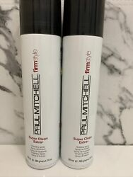 2x Paul Mitchell Firm Style Super Clean Extra Finishing Spray Hairspray 10oz new $20.69