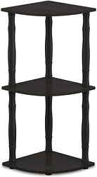 Small 3 Tier Corner Entryway Shelf Table For Entrance Front Door Entry Hall NEW $39.99