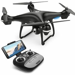 Holy Stone HS100 RC Drone With 1080P HD Camera Wide Angle Large Quadcopter GPS $129.95