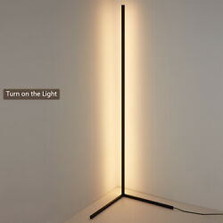 Vertical Floor Lamp LED Dimmable Floor Light 1.2m Indoor Lamp Remote Control $93.10