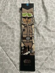 STANCE Star Wars Socks Sub Zero Hoth Luke Skywalker Tauntaun Size Large $19.99