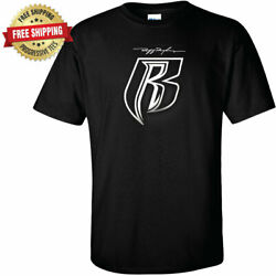 DMX Ruff Ryders Black T Shirt S 5XL
