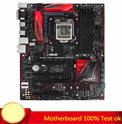 FOR ASUS B150 Pro Gaming Aura Motherboard Supports 64GB VGADVI 100% Test Work $105.43