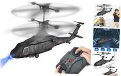 Remote Control Helicopter RC Army Heli Toy with Gyro amp; Led for Kids Boys Girls $28.12