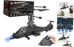 3.5 Channel Remote Control Helicopter RC Army Heli Toy with Gyro amp; Led for $30.66