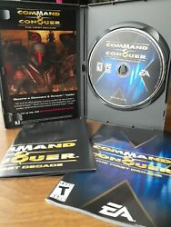 Command amp; Conquer The First Decade PC: Windows 2006 NO Game CasePosterManual $10.00