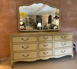 Dixie 6 Piece Bedroom Set French Provincial: Good Condition Pickup Only $750.00