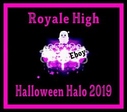 ROBLOX ROYALE HIGH HALLOWEEN HALO 2019 RH DIAMONDS **READ DESCRIPTION** $54.99