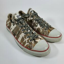 Converse ALL STAR Low Top Camoflague Shoes Mens Size 12 Womens Size 14 $25.00
