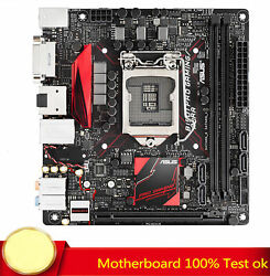 FOR ASUS B150I Pro Gaming Aura Motherboard Supports 7300 7400 100% Test Work $211.88