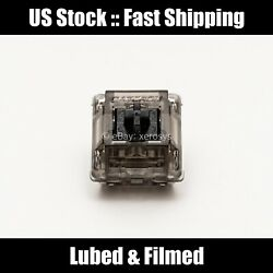 US Stock Gateron Ink Black v2 Lubed amp; Filmed Krytox 205g0 105 Filmed