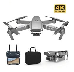 New E68 RC Drone HD Wide Angle 4K WIFI 1080P FPV professional Selfie Quadcopter $84.54