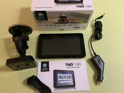 Rand McNally IntelliRoute TND740 LM 7quot; GPS Used $219.00