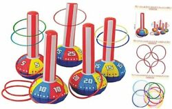 Inflatable Ring Toss Game Super Fun Outdoor Games for Kids amp; Adults 5 15 $31.90