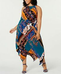 Be Bop Trendy Plus Size Halter Maxi Dress 2X $14.99