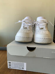 air force 1 low white Size 13 $70.00