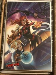 FANTASTIC FOUR 15 J SCOTT CAMPBELL NYCC EXCLUSIVE VIRGIN VARIANT MARY JANE COVER $19.99
