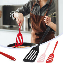 Silicone Cooking Turner Slotted Cooking Spatula Cooking Utensil NonStick Kitchen $8.58