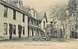 A View Of The Elmhorst Convent Providence Rhode Island RI 1907 $11.95