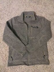 The North Face Hoodie Jacket Fleece Full Zip Pockets Size M M $40.99