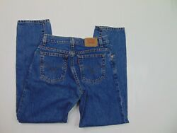 Vtg Levis 550 Womens 10 High Waisted Blue Mom Jeans Relaxed Tapered Medium 90s $18.99