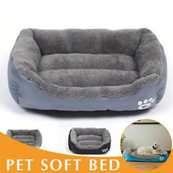 S M L XL Dog Bed Cat Bed High Quality Pet House Soft Warm Kennel Dog Blanket US $16.99