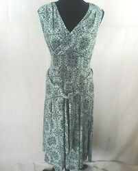 MICHAEL Michael Kors Womens Majorelle Green Belted Maxi Dress Plus Sizes CL 20 $25.00