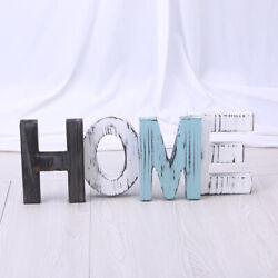 HOME Wall Ornaments Decorative Colorful Non toxic Wooden Letters Wall Letters $27.11