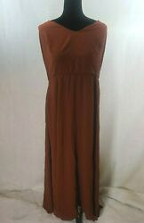 City Chic Womens Divine Overlay Spice Maxi Dress Plus Size CL 20 $20.00