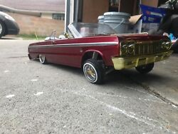 Redcat RC SixtyFour Impala Convertible Soft top Ragtop For Lowrider Sixty Four $20.00