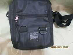 Small CAMERA BAG.... BLACK...NEW $10.50